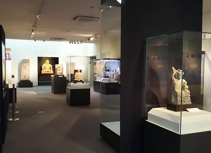 シルクロード美術館の館内