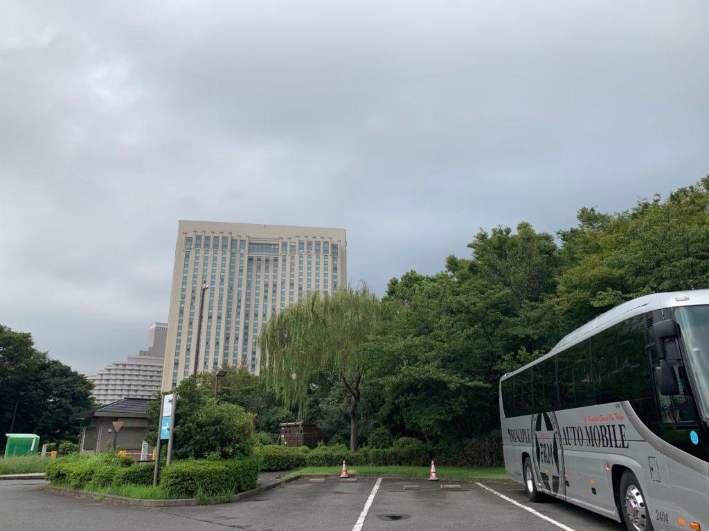 潮風公園大型バス駐車場