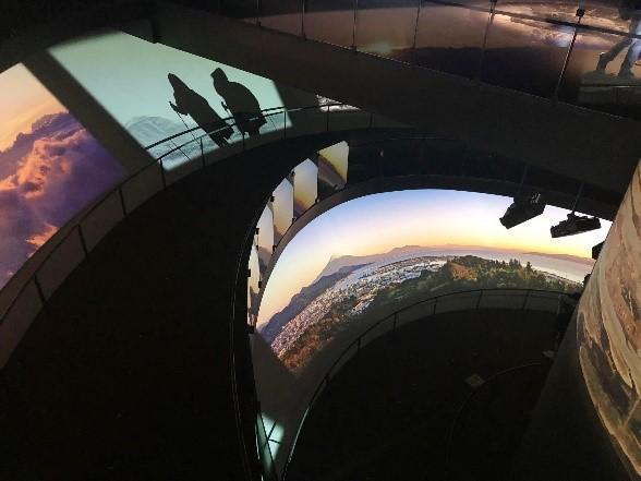 世界遺産センター登山
