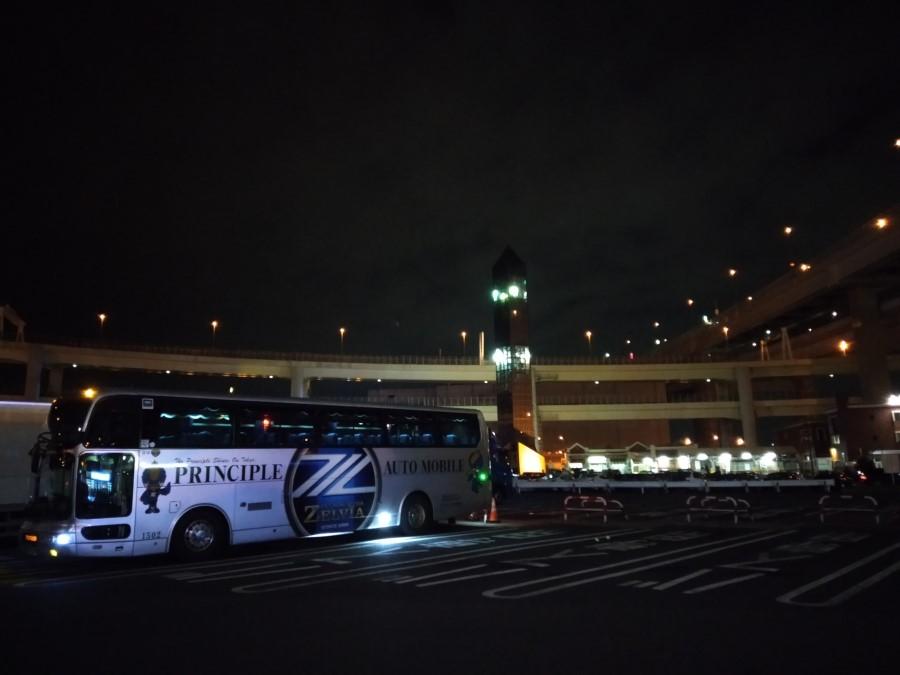 Jリーグ選手バス