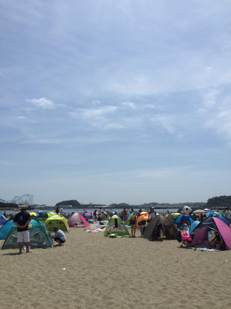潮干狩り 横浜