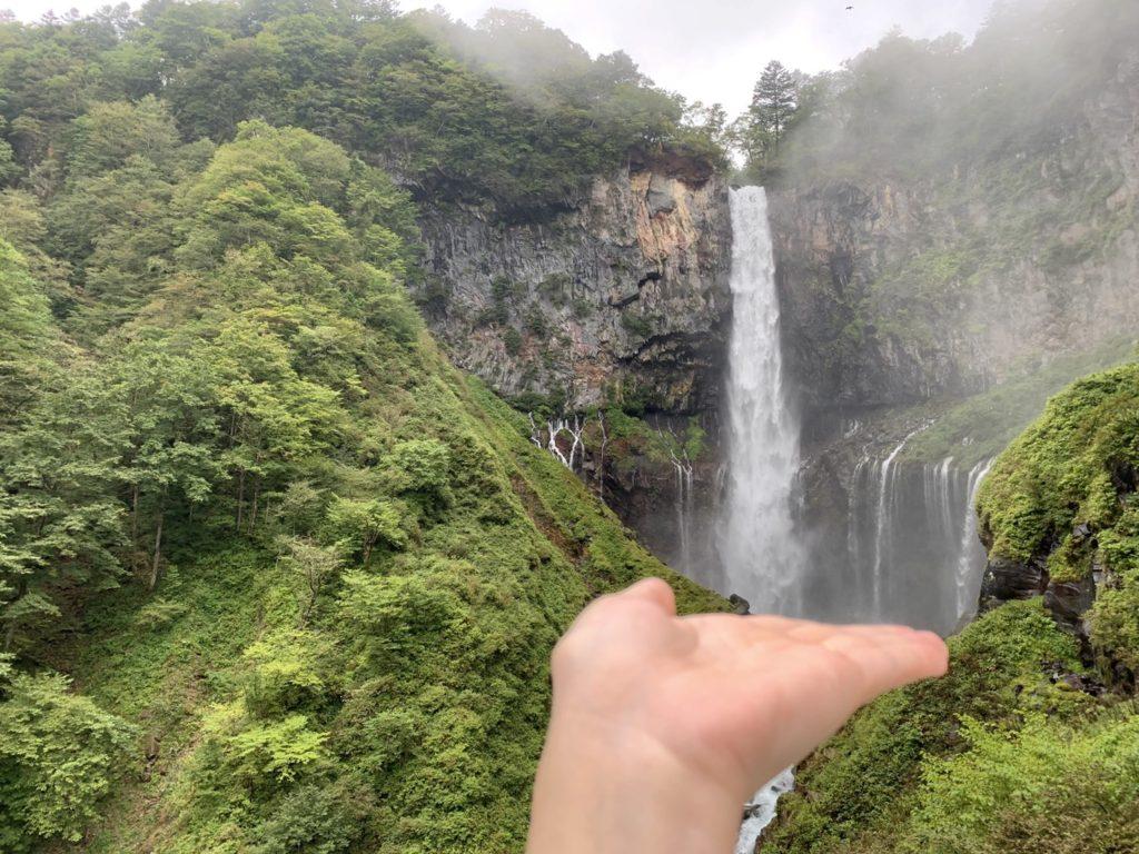 華厳の滝 写真