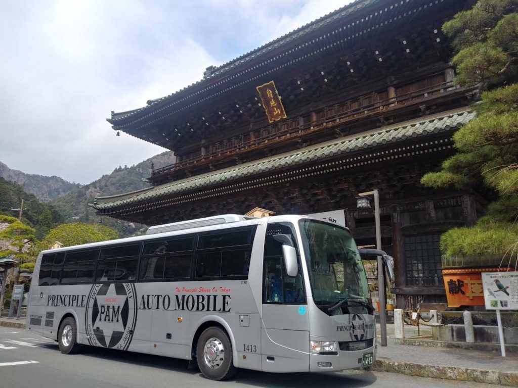 身延山 バス