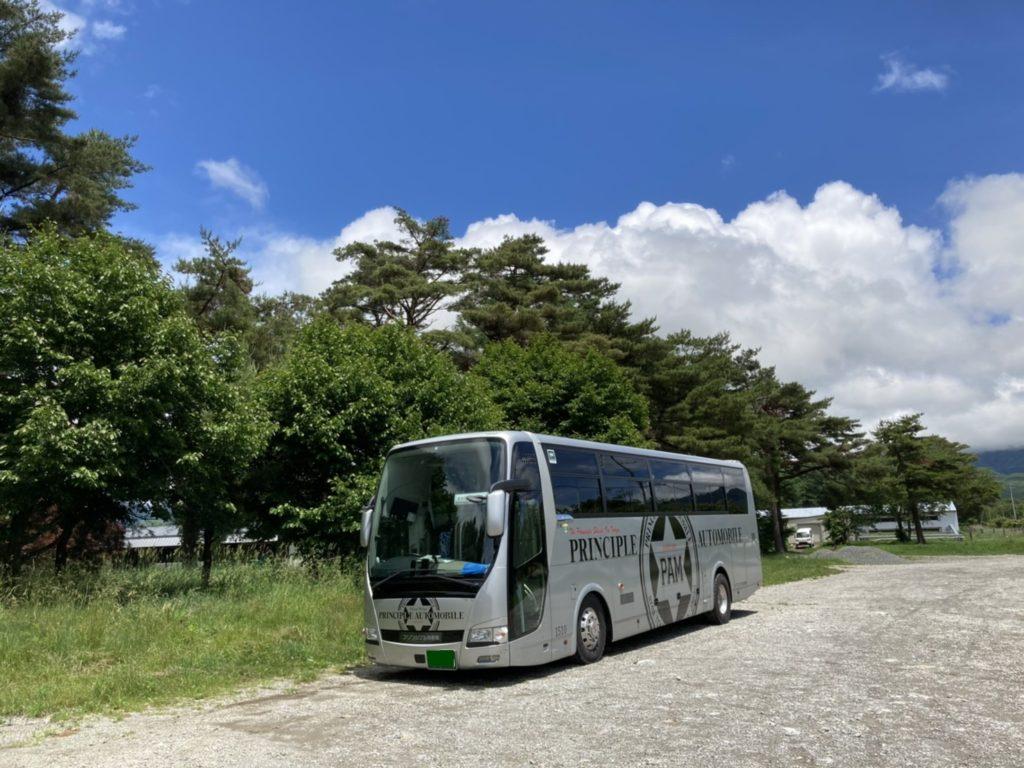 八ヶ岳 バス 写真