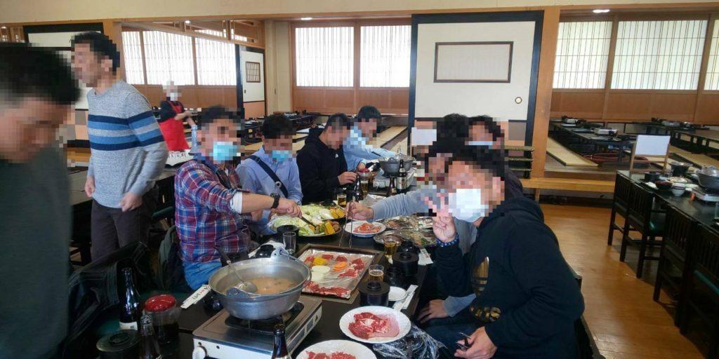 原田農園 団体昼食