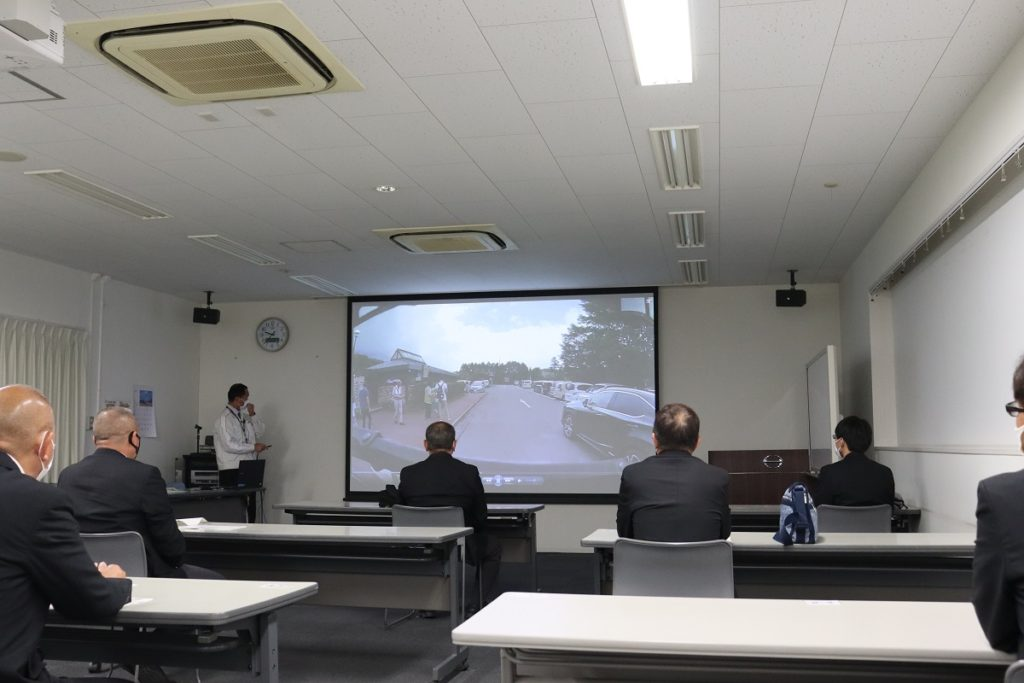 日野自動車 安全運転講習